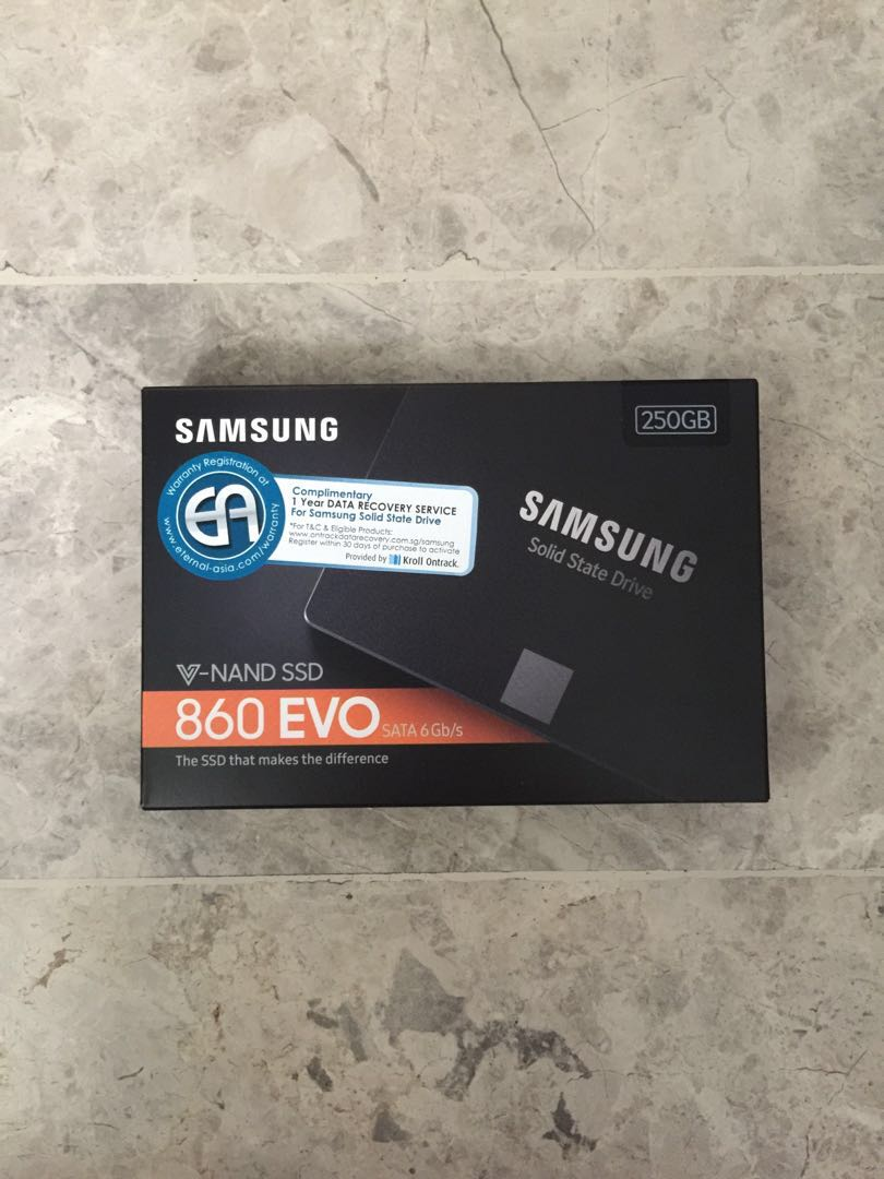 Samsung Evo 860 250gb Ssd Electronics Computer Parts Accessories