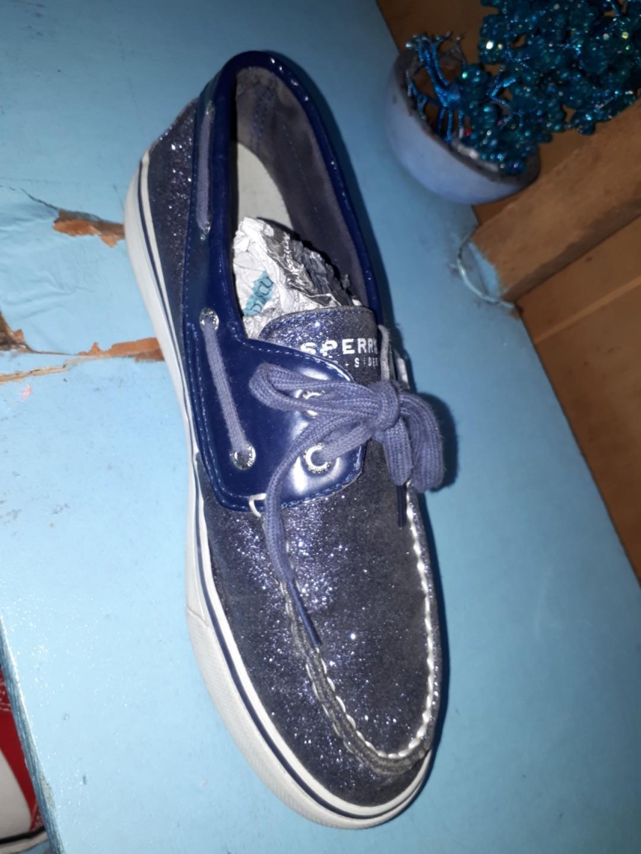 Sperry Top-Sider glittering blue, Women
