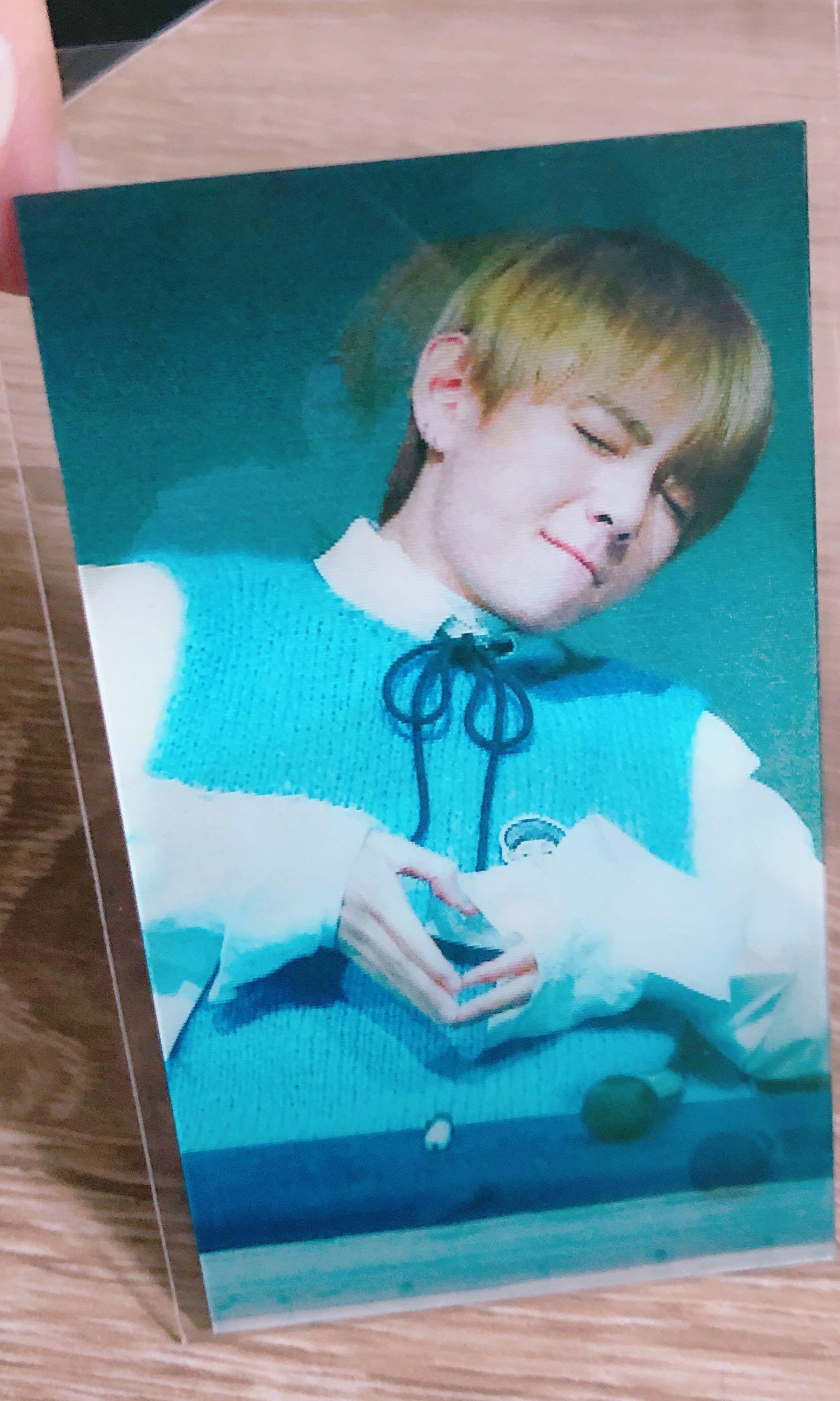 Taekook Lenticular Card Emw Hologram Stickers Post Cards K Pop Power Bank Exo Bts Bangtan Boys 5000mha Entertainment Wave On Carousell