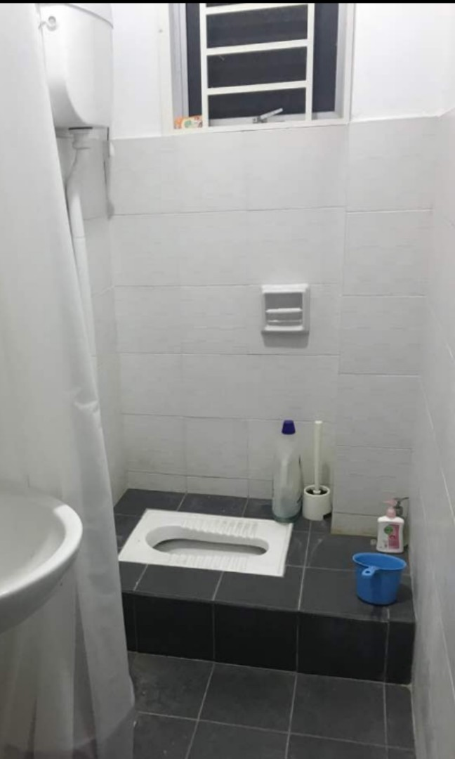 Toilet Tandas Cangkung Or Floor Wc Home Furniture Others On Carousell