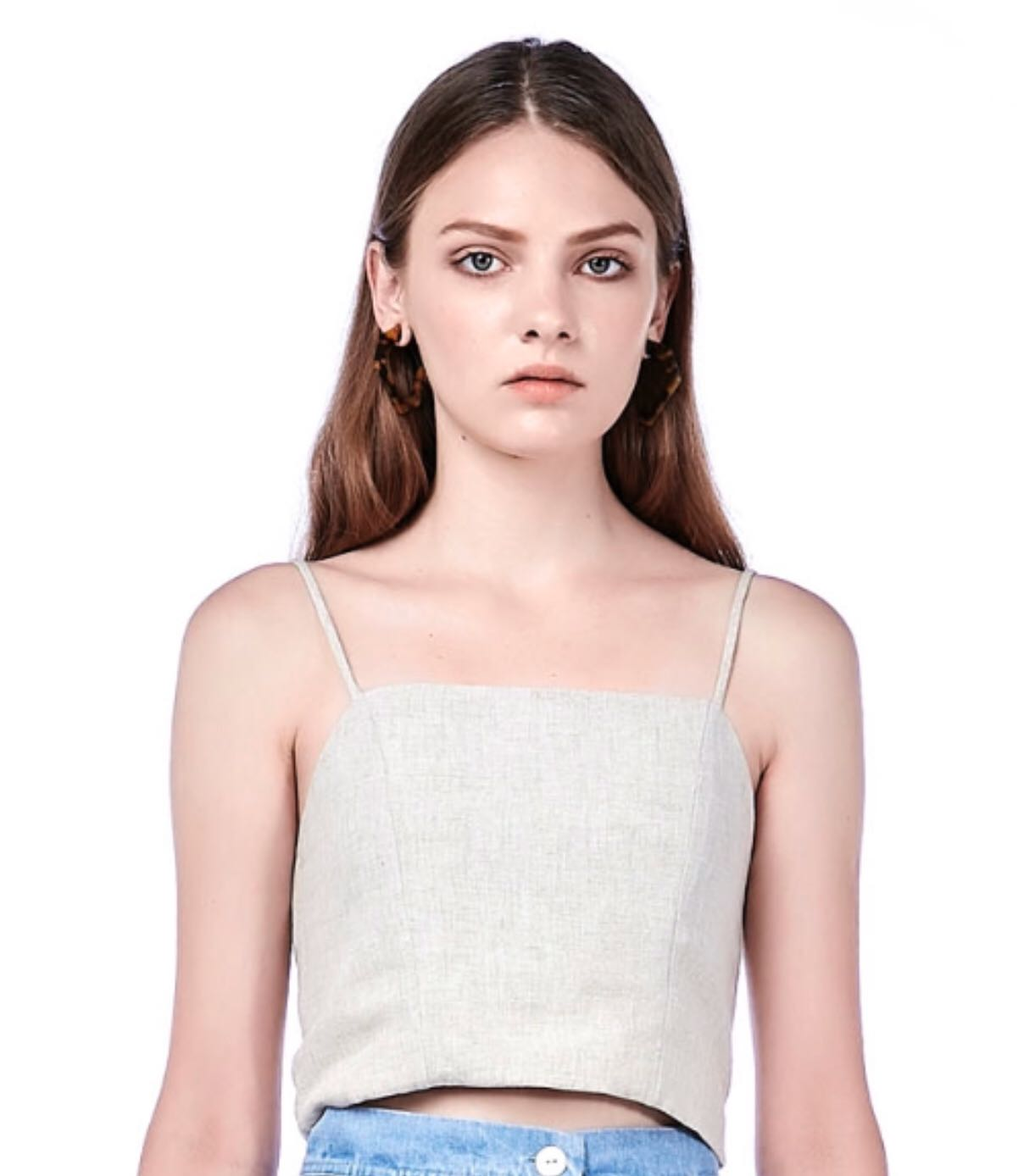 e60252615f956 The Editor s Market CELYN CROP TOP