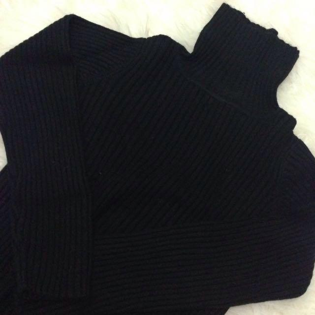 Turtleneck Longsleve Black