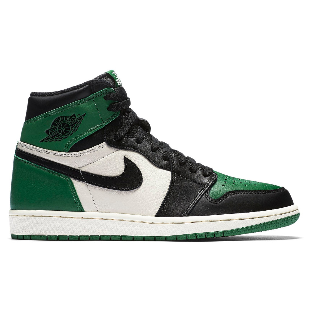 8f0d2c25 💯[IN STOCK-US 10.5] Jordan 1 Retro High Pine Green, Men's Fashion ...