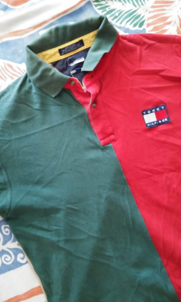 48ccbe7d VINTAGE TOMMY HILFIGER POLO, Men's Fashion, Clothes, Tops on Carousell