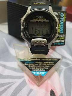 NOS vintage Timex Marathon digital watch