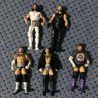 WWE Elite CM Punk and Seth Rollins set
