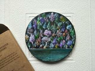 🚚 手繪陶瓷藝品【彩虹樹】