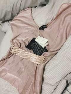 Emporio Armani pink pullover top BNWT