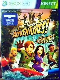 XBOX 360 KINECT Adventures Game CD