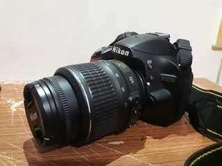 🚚 (誠可議)NIKON D3200 單眼相機 附鏡頭AF-NIKKOR18-55mm 8成新