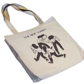 The New Yorker Classic Vintage Book Tote Bag
