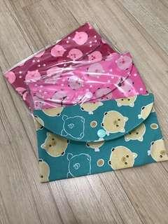 *Taiwan imported* Handmade women pouch