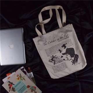 Catcher in the Rye Signature Tote Bag