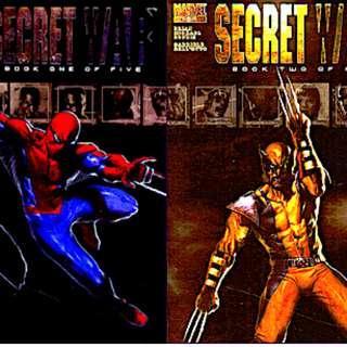 SECRET WAR (2004) Issues # 1, 2, 3, 4, 5