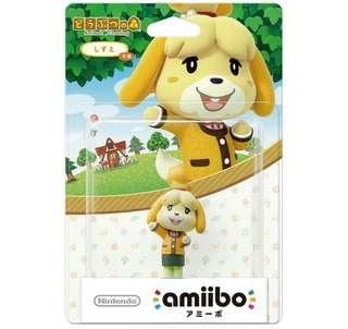 Nintendo Amiibo Isabelle Winter Outfit Animal Crossing Series Figure MISB