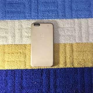 iphone 6+/6s+ original apple gold leather case