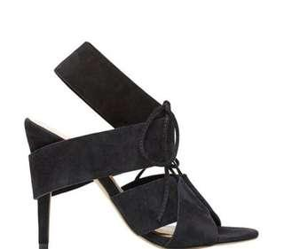 Seed Lace Up Heel