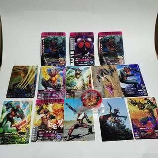 Kamen rider amazon card.collection