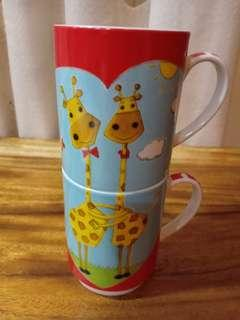 Stack up mug - Lovely Giraffe