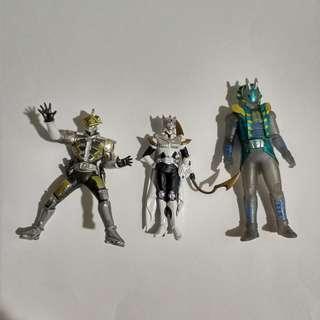Kamen rider lot sale(3 pieces)