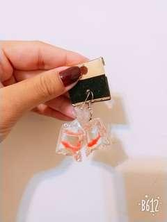 🚚 金魚袋耳環
