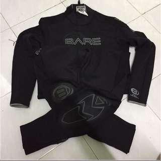 Bare Wetsuit Size MLS