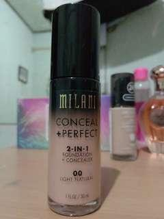 Foundation Milani Conceal Perfect