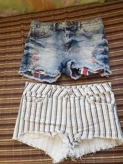 SALE AT 299 TODAY LNG PO...Read description..Bershka short SET SIZE MEDIUM for only 350