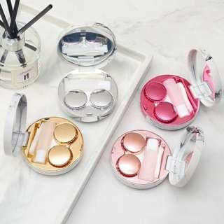 Marble Contact Lens Case Holder
