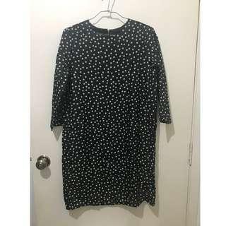 Kashieca Black Polka Dot Dress