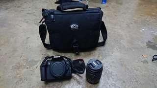 Canon EOS 700D + Canon 18-55mm IS STM