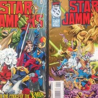 MARVEL'S STAR JAMMERS (1995) #1, 4