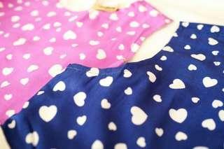 dress motif hati