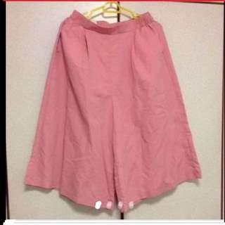 $43 Giordano Sweet Pink Skirt-Pant (Brand New)