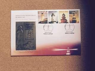 Royal Selangor Pewter Stamp (First Day Cover)