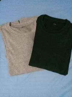 Uniqlo shirt long sleeve (bundle)