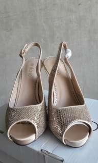 Milano Gold High Heels