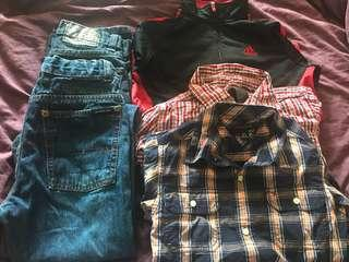 Pre owned boys clothing A+ condition