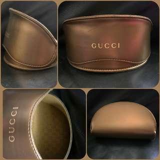 Authentic Gucci Genuine Leather Large Sunglasses Hard Case