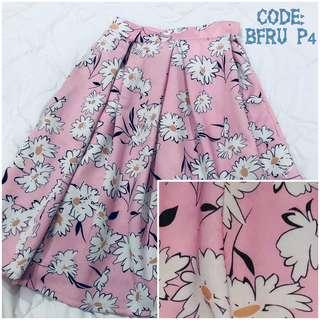 Classy Floral Skirt