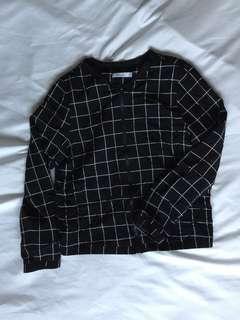 Reitman's Checkered zip-up