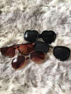 Various Sunglasses