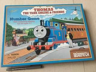 Rare! Thomas The Tank Engine & Tank Number Game