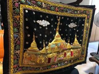 Vintage myanmar artwork