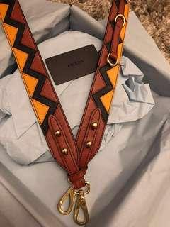 Prada bag strap tracolle staccabili brand new