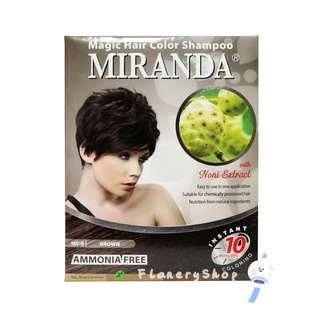 Miranda Magic Shampoo ( Magic Hair Color Shampoo ) MS 09 - BROWN