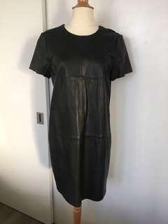 Banana Republic Leather Dress