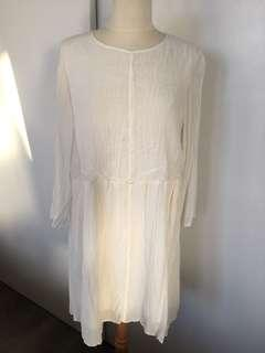 Wilfred White Dress