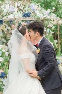 ELEGANT BALLGOWN WEDDING DRESS