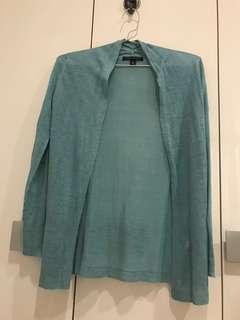 Bsnana Republic  green long sweater